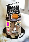 Friends Movie Clapper Board Birthday Cake Topper Personalised Set 1st Class Post