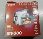 CANON MV800 CAMCORDER MINI DV DIGITAL TAPE VIDEO CAMERA Carry Case Box Ex Con