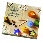 CANDLE MAKING STARTER KIT HOUSE OF CRAFTS GIFT SET WAX MOULDS INSTRUCTIONS 220