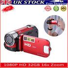 1080P HD Digital Video Camera 32GB 16x Zoom DV Camcorder Recorder Night Vision