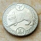 An Isle of Man Manx Cat Collectible 10 Pence Coin