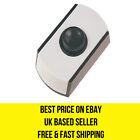 Dencon Black and white low voltage door bell push button 6cm x 3.4cm