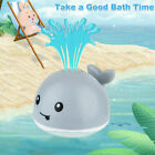 Whale Bath Toy Baby Bath Toys Whale Induction Water Spray Ball LED Sprinkler UK