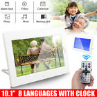 10 Inch Multifunctional LED Digital Photo Frame Electronic Album Calendar White