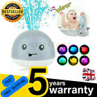 Baby Bath Toys Whale Bath Toy Whale Induction Water Spray Ball LED Sprinkler UK