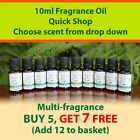 10ML Fragrance Oil - 2021 Scents - Candle Bath bomb Soap Making Wax Melts IFRA