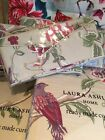 Laura Ashley curtains Pair summer Palace Cranberry W)162 L)137