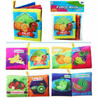 Newborn Baby Infant Soft Cloth Book Gift Interactive Books Educational Learn Toy