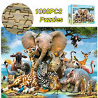 1000 Piece Animal World Jigsaw Puzzles Adult Kids Educational Puzzle Gift