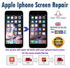 iPhone 8 Plus Full screen replacement service / LCD and Glass / Same day repair