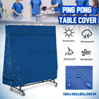 UK 160CM Waterproof Indoor/Outdoor Table Tennis Cover Ping Pong Protecor  XMAS