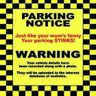10 x Joke Parking Ticket Prank Penalty Police Notice Funny Waterproof Stickers