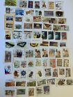 AUSTRALIA: SELECTION OF USED AUSTRALIAN STAMPS ON PAPER    A-XXV11