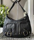 Beautiful Genuine Ted Baker Black Leather Shoulder bag , Handbag