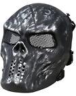 Kombat Tactical Airsoft Paintball Full Face Protection Skull Mask Halloween UK