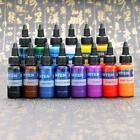 Intenz Tattoo Ink Set 14 color 1oz 30ml Bottles Genuine Inks For Professionals