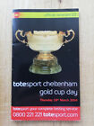 BEST MATE 3RD CHELTENHAM GOLD CUP 2004 RACECARD - VERY GOOD CONDITION