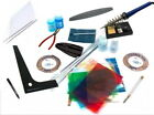 Stained Glass Tools & Supplies Copper Foil Starter Kit  + Coloured Glass Pack !!