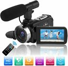 Camcorder Video Camera Full HD 1080P 30FPS 24.0MP Night Vision Camera for Youtub