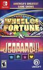 Wheel Of Fortune & Jeopardy - Nintendo Switch - New & Sealed