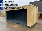 20ft x 8ft Cladded Roller Shutter Shipping Container (Bury Area)