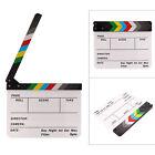 Acrylic Clapperboard Film Movie Director Clapper Board Scene Slate Dry Erase UK