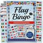Flags of the World Bingo & Quiz Game - Fun activity & teaching aid for all ages.