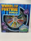 New Wheel of Fortune Bingo Game with Spinning Wheel Sealed