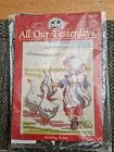 DMC CROSS STITCH ALL OUR YESTERDAYS  heading home new sealed