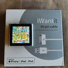 Apple iPod nano 6th Generation Silver (8GB) Serial No: DCYHQ8W6DCMN