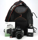 Canon EOS 600D DSLR Camera + Canon EF-S 18-55mm III Lens Kit - Only 8,597 Shots