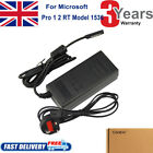 For Microsoft Surface Pro 1 Pro 2 RT 10.1 Windows 8/10 Tablet PC Adapter Charger