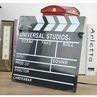 Directors Clapper Board Acrylic Clap Clapperboard Film Movie Action Scene Board