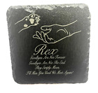 Memorial Plaque For Pet Cat Dog Made From Slate Personalised Grave Stone Marker