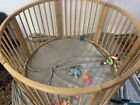 Wooden Round Play Pen Baby