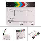 Director Film Clapperboard Dry Erase Movie TV Cut Action Scene Clapper Board UK