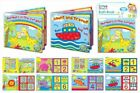 2 BABY BATH BOOKS FLOATING WATERPROOF SOFT PLASTIC FUN ACTIVITY LEARNING TOY NEW