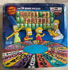 The Simpsons Wheel of Fortune Deluxe Edition w/24 Bonus Puzzles In Tin New