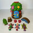 LAKESHORE FAIRY LAND Playset with HOUSE 3 FAIRIES Accessories Preschool VGC