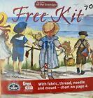 All Our Yesterdays Cross Stitch Kit Faye Whittaker Beach Seaside Girl Teddy Hat