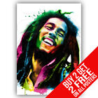 BOB MARLEY POSTER ART PRINT A4 A3 SIZE -BUY 2 GET ANY 2 FREE