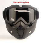 Tactical Military Full Face Goggles Mask Helmet for Paintball Airsoft CS Combat
