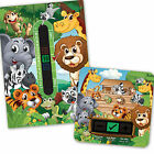 BABY BATH & ROOM THERMOMETER -JUNGLE SET