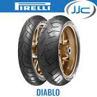 Pirelli Diablo Performance Motorcycle Tyres Pair 120/70/17 58W & 160/60/17 69W