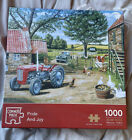Corner Piece Puzzles 1000 Piece Pride And Joy Jigsaw Puzzle Completed Once