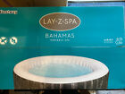 Lay Z Spa Bahamas 2021 AirJet Hot Tub 4 Person  FREE FAST DELIVERY 🚚💨