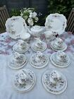 Vintage Royal Stafford Bideford Tea Set For 8 With Teapot 29 Pieces VGC