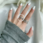 925 Solid Sterling Silver Mixed CELTIC Design Rings with Adjustable Open Band