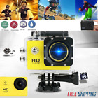 2inch LCD Full HD 1080P Action Camera Sports Cam Underwater 30M Camcorder DV DVR
