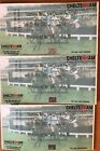 Horse Racing 3 unused Cheltenham Festival Tickets for Abandoned 2001 Meeting